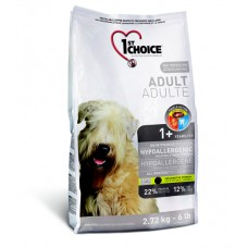 Корм 1st choice гипоаллергенный для собак с уткой и картофелем