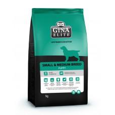"""Корм Gina Elite для щенков малых и средних пород """"Small & Medium Breed Puppy"""""""