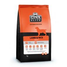 """Корм Gina Elite для собак склонных к аллергии """"Lamb & Rice Adult"""""""