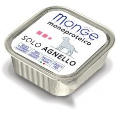 Корм Monge Monoproteico для собак паштет из ягненка