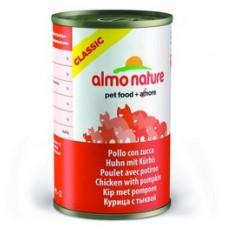 Корм Almo Nature для кошек с курицей и тыквой