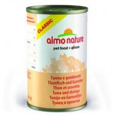 Корм Almo Nature для кошек с тунцом и креветками