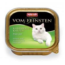 Паштет для кастрированных кошек с отборной индейкой