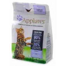 """Корм Applaws для кошек """"Курица и Утка/Овощи: 80/20%"""" беззерновой"""