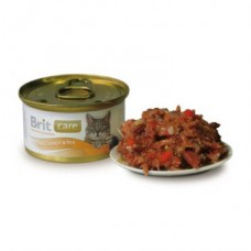 "Brit Care корм для кошек ""Тунец, морковь и горошек"""