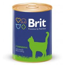 """Brit Premium корм для кошек """"Говядина"""""""