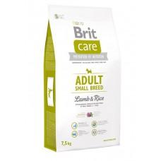 Корм Brit Care для собак мелких пород с ягненком и рисом