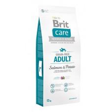 Корм Brit Care для собак с лососем и картофелем