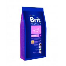 Корм Brit Premium для щенков мелких пород: 1-12 мес. (Junior S)