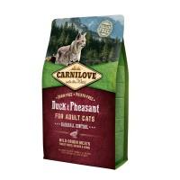 Корм CarniLove для кошек с мясом утки и фазана