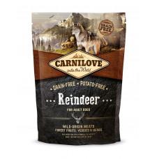 Корм CarniLove для собак с мясом северного оленя