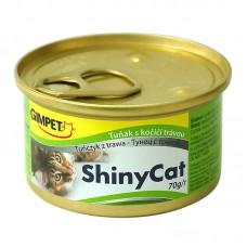 """Gimpet ShinyCat корм для кошек """"Тунец с травой"""""""