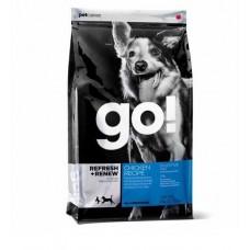 Корм GO! для щенков и собак с курицей, фруктами и овощами