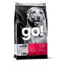 Корм GO! для щенков и собак со свежим ягненком