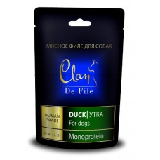 Clan De File лакомство с уткой для собак