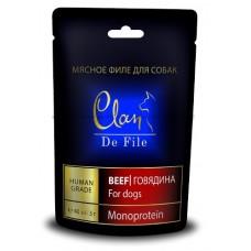 Clan De File лакомство с говядиной для собак