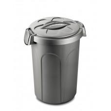 Stefanplast контейнер для хранения корма 46 л. серебристый