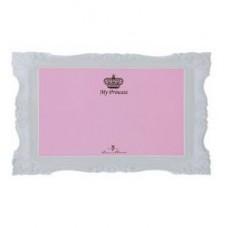 """Коврик под миску для кошек """"My Princess"""", 44 × 28 см, розовый"""