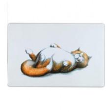 """Коврик под миску для кошек """"Thick cat"""", 44 × 28 см"""