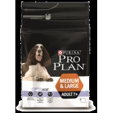 Pro Plan корм для пожилых собак с курицей и рисом