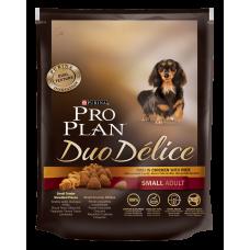 Pro Plan Duo Delice корм для собак мелких пород с курицей