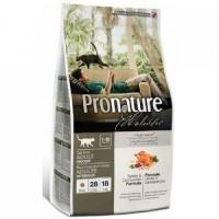 Корм Pronature Holistic для кошек индейка и клюква