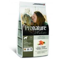 Корм Pronature Holistic для собак индейка с клюквой