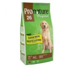 Корм Pronature 26 для взрослых собак крупных пород