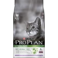 Корм Pro Plan для стерилизованных кошек с лососем