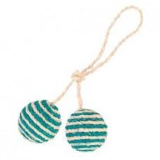 2 мяча на верёвке