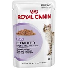 Royal Canin Sterilised пауч в соусе для стерилизованных кошек