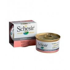 """Schesir корм для кошек """"Лосось в собственном соку"""""""