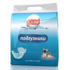 Cliny Подгузники для кошек 2-4 кг XS (11шт)